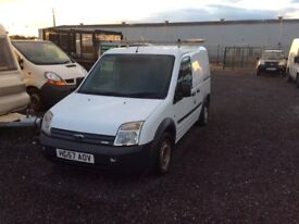 Ford transit connect 18 diesel long mot no vat ready to go.