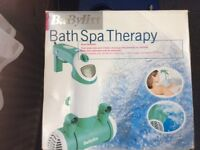 Babyliss bathspa therapy