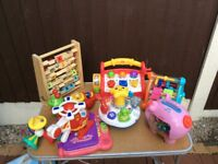 Various learning skill toys