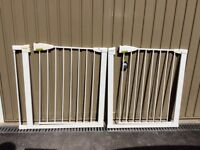 Lindam pressure fit stair gates/safety gates