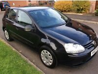 2007 VW GOLF TDI S 1.9,5 DR H/B, SERVICE HISTORY, MOT MARCH '17, VERY CLEAN INSIDE & OUT, ONLY £2495