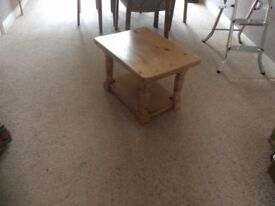 Small Pine Coffe Table