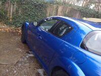 Lovely winning blue Mazda rx8 192