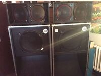 Classic reggae soundsystem for sale - cheap! Loaded Bass scoops and mids
