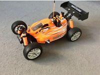 Rc car nitro hyper 7 TQ sport buggy (as new) Very Fast