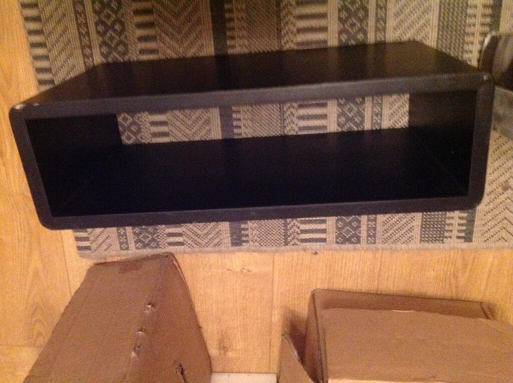 LIVIVO FLOATING SHELF WALL MOUNTED WOODEN CUBE SKY BOX DVD HIFI WIFI Delectable Floating Hi Fi Shelves