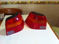 VW GOLF Rear light units complete - Both sides available - Used
