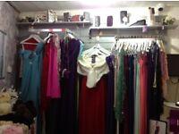 Slatwall (silver grey colour), matching shelves, various brackets & fixtures for sale