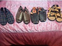 Size 14 Men's shoes, slippers , sandals