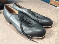 Tap dance shoes size 9.5 by Boch. Bought for £48 and worn only twice so in excellent condition.