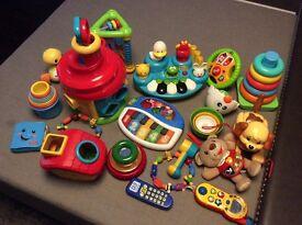 Job lot baby toys bundle