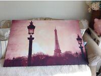 Large Paris canvas
