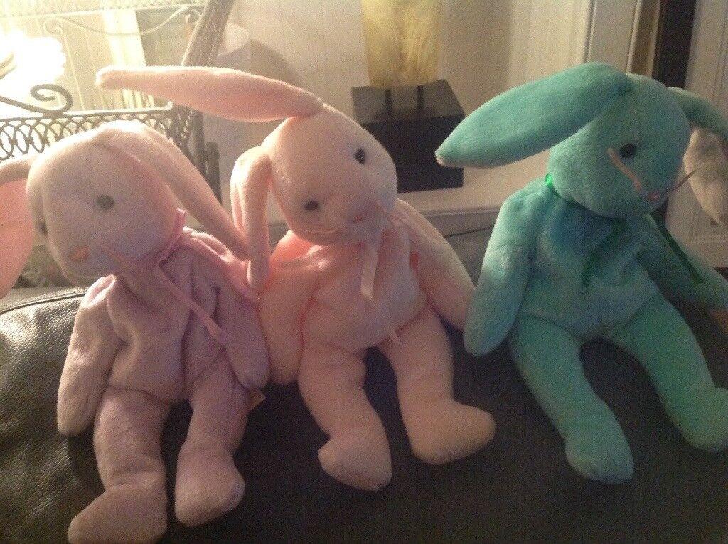 3 x TY Beanie Babies