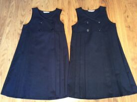 M&S Pinofore navy colour x2 items age 7-8 year old all in excellent condition.