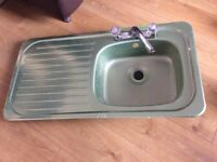 Brand new stainless steel single bowl kitchen sink