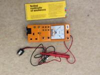 Electrical Testing Meter