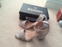 Missguided high heels. Size 7