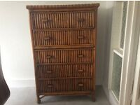 Bamboo 5 Chest of Drawers