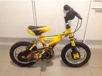 """Children's Raleigh Bike 12"""" Wheels"""