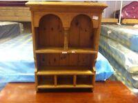 Beautiful condition!!! Homemade wooden spice rack/ kitchen storage shelf