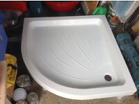 Quadrant shower tray for sale