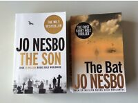 Jo Nesbo Books (The Son/The Bat)