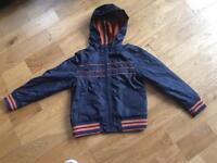 Indigo by M & S boys rain jacket aged 5-6 years