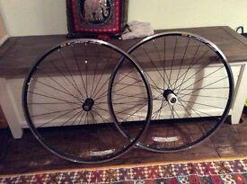 Mavic CXP 22 wheel set for road bike