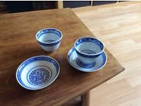 Lot of 35x Chinese teacups and matching saucers *ideal table decorations*