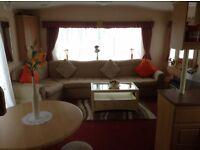 Caravan for hire 6 berth close to Stranraer South Ayrshire 7 night only £290