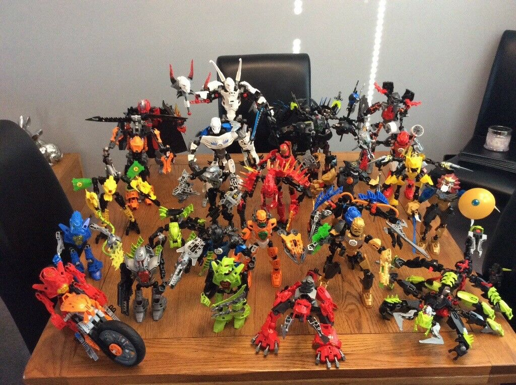 Large Lego Bionicle Collection In Brightons Falkirk