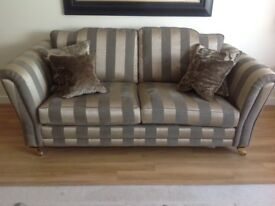 2 sofas a 3 and 2 seater excellent condition only 1yeAr old bought from sterling furnishing
