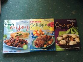 Three weight watchers books