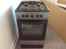 Currys Essentials single gas oven and gas hob cooker