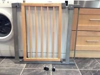 Mothercare wooden pressure fix stair gate
