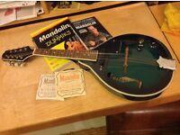 Wesley Electro Acoustic Mandolin plus accessories