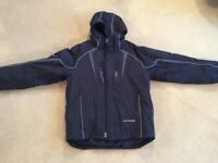 Ski Jacket Mens - White Rock SX size M, black