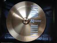 Vintage Rogers China Cymbal 18inch