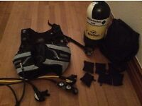 Ladies scuba diving gear - all as new, hardly used, owner unable to dive