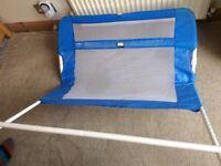 Lindam child bed safety rail blue