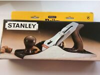 Stanley wood hand planer still boxed excellent condition