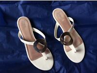 Next toe bar shoes size 6.5
