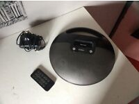 Black Goodmans iPod docking station speaker, used but in very good condition.
