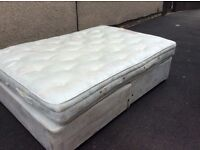 Hypnos Double Bed In clean condition Can Deliver Asap.