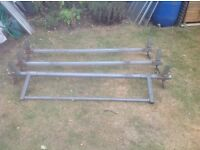 Set of 3 Ford Transit roof bars