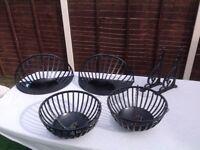 Garden hanging baskets & troughs
