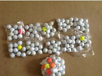 GOLF BALLS 125- Very good condition Nike, Pro/X, Srixon, Tmade,Bstone, Calway and others