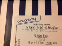 The Selecter/ The beat 02 Academy Bristol 8th April