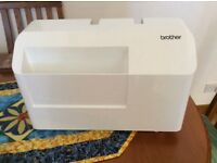 Brother sewing machine with embroidery frame ,three years old ,unwanted gift ,