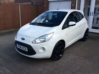 Ford, KA 1.25cc Zetec, White Edition Hatchback, Air Con, 2016, Manual, 1242 (cc), 3 doors